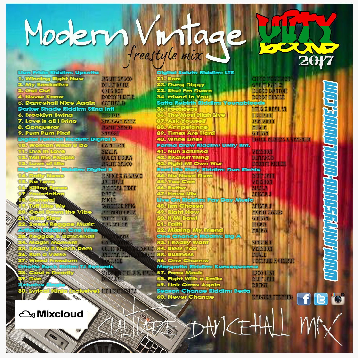 [Multi-Tracked Download] Unity Sound - Royal Warriors meets Dancehall Moods - 2017]
