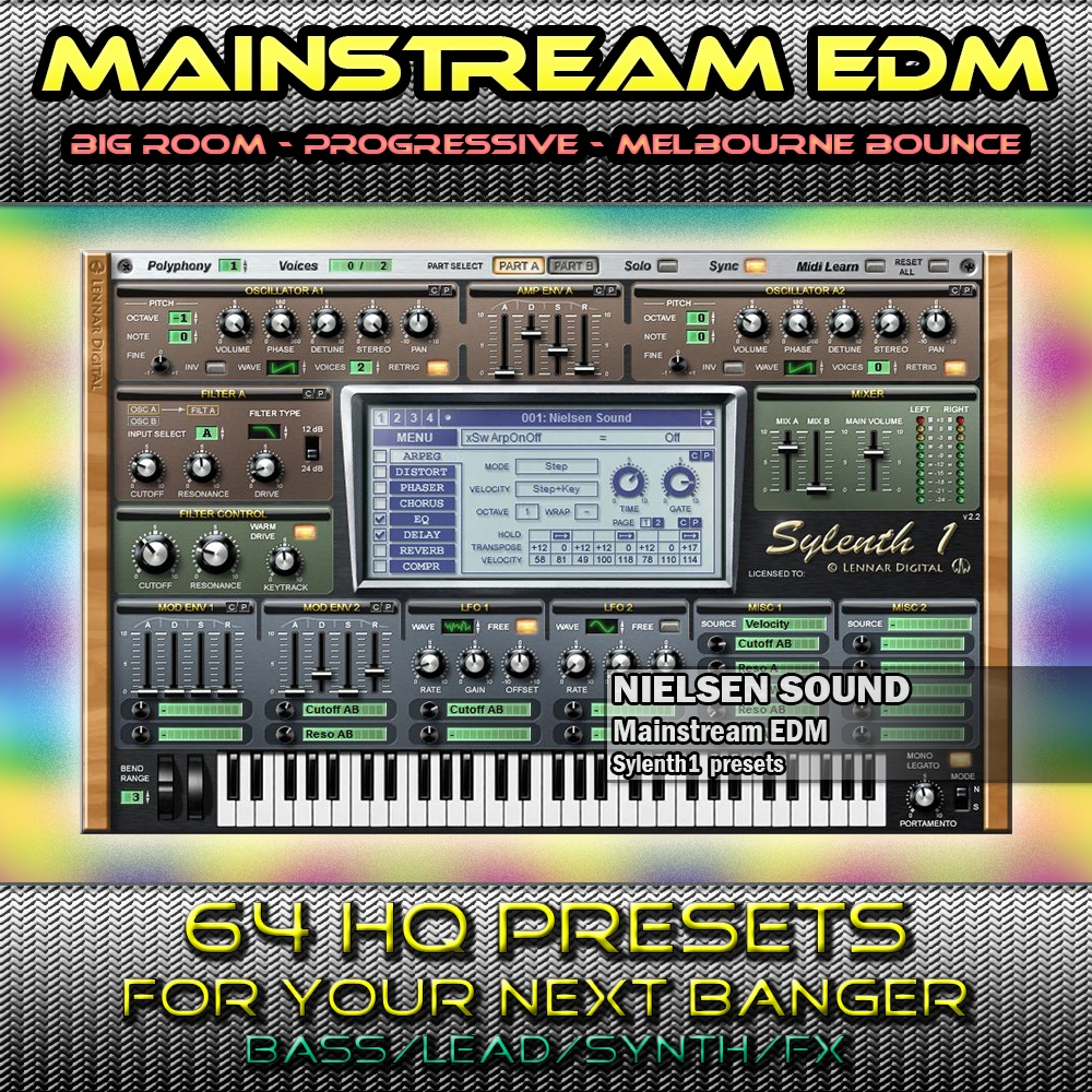 Mainstream EDM for Sylenth1