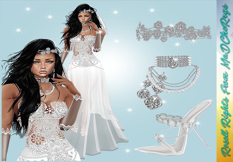 Diamond Wedding Bundle Catty Only!!!!