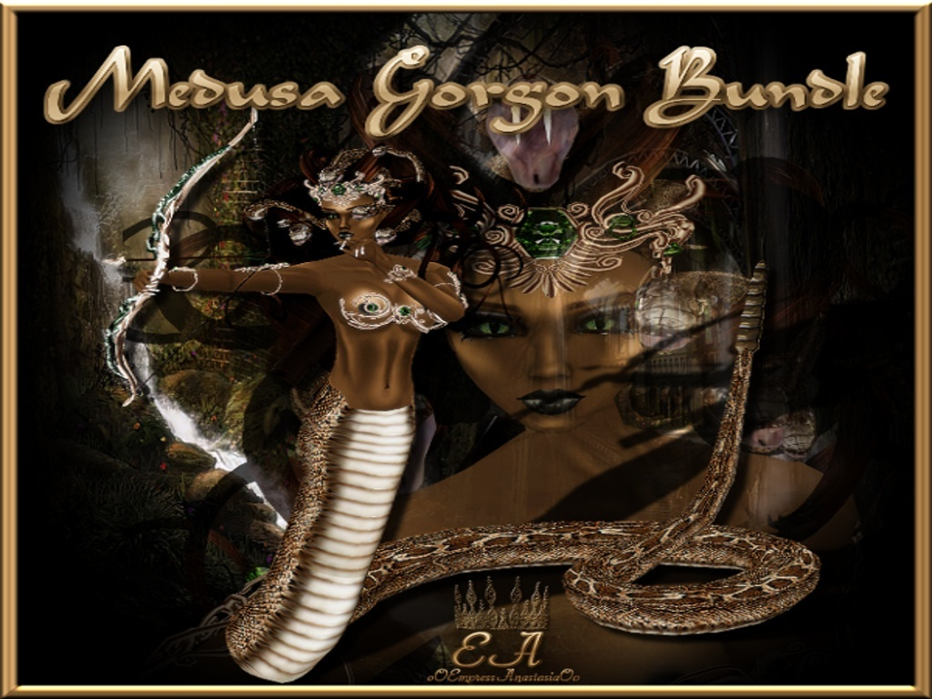 The Medusa Gorgon Collection Catty Only!!!!