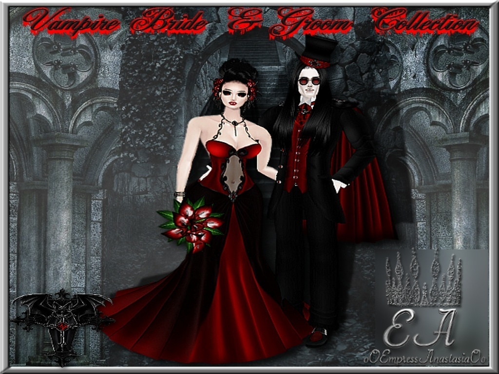 The Vampire Bride and Groom Collection Catty Only!!!!