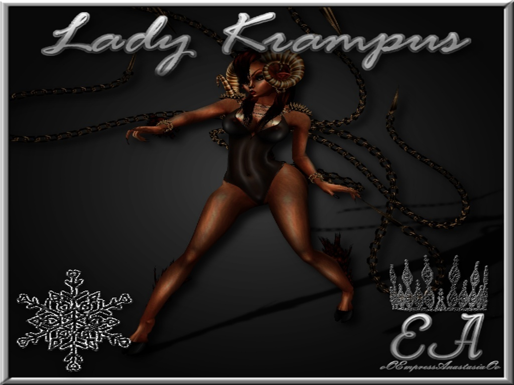 Lady Krampus Collection Catty Only!!!