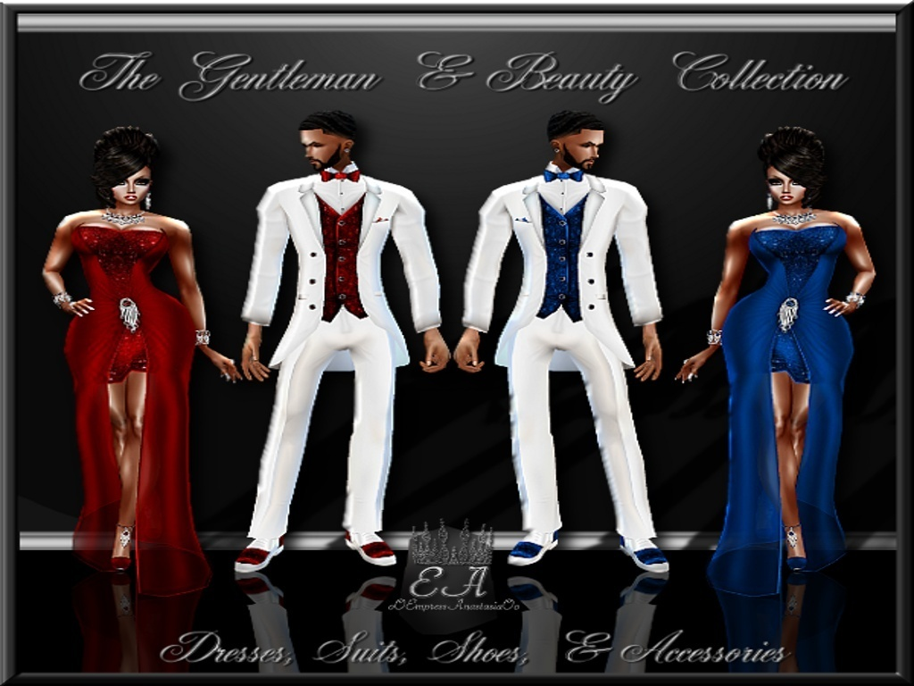 The Gentleman and Beauty Collections Catty Only!!!!