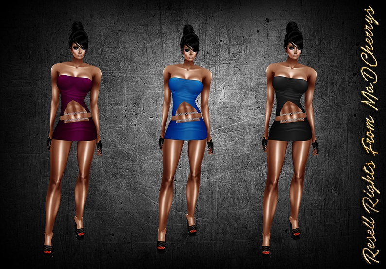 Silvia Dresses Catty Only!!!!  Exclusive