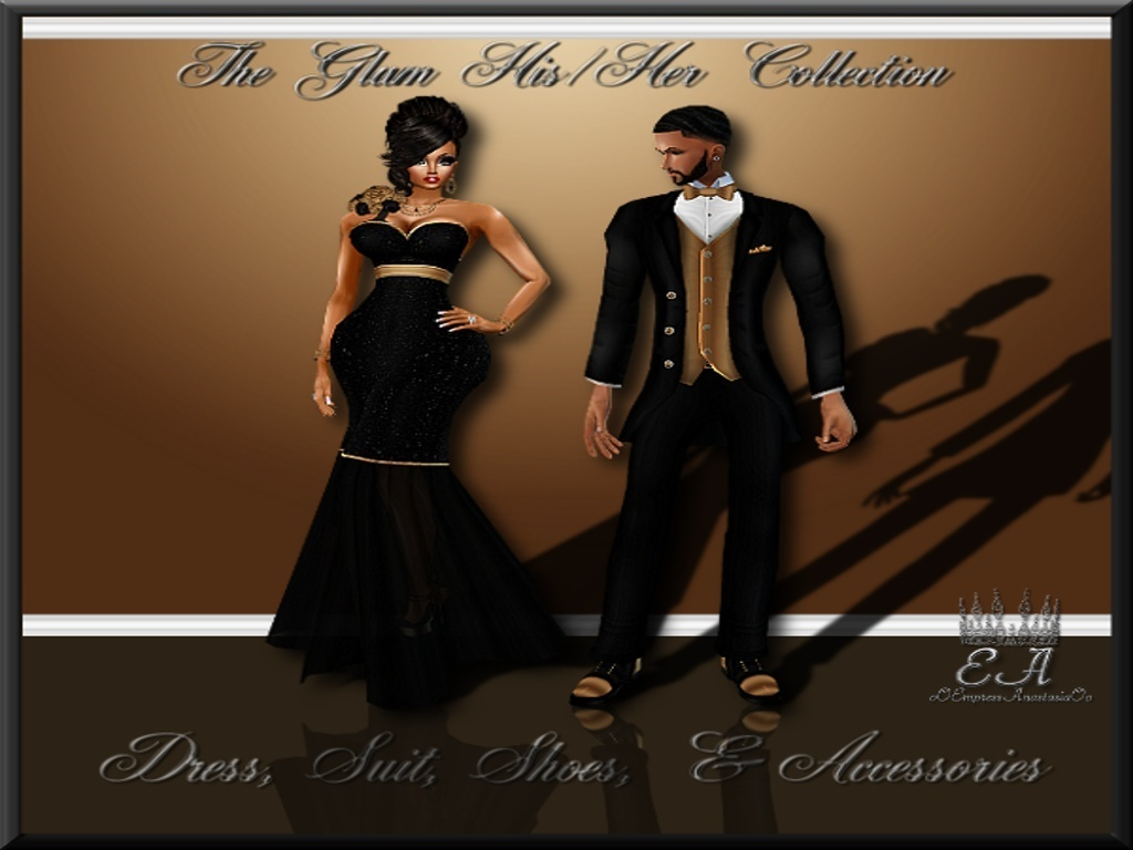 The His & Her New Year Glam Collection Catty Only!!!!