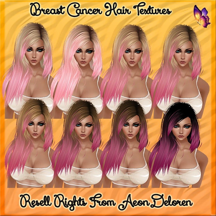 Breast Cancer Hair Textures Catty Only!!!