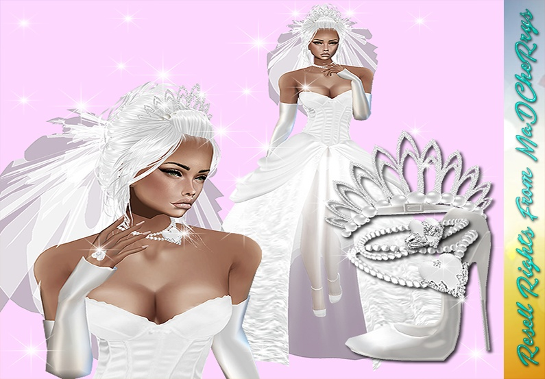 Princess Wedding Bundle Catty Only!!!!