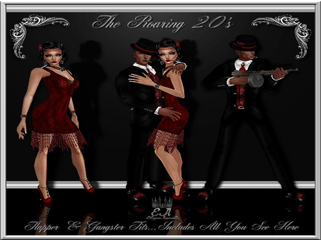1920's Flapper & Gangster Collection