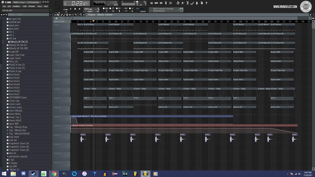 DrumSelect - IMR FL Studio Skin Vol.1