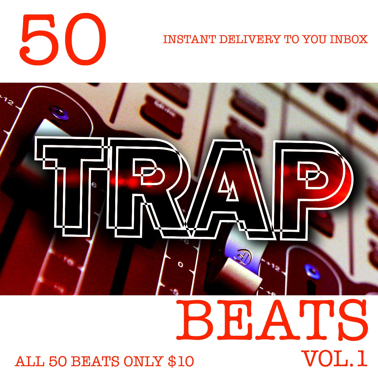 50 Trap Beats For $10