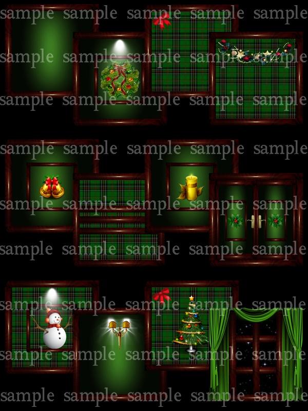 Green Christmas pack