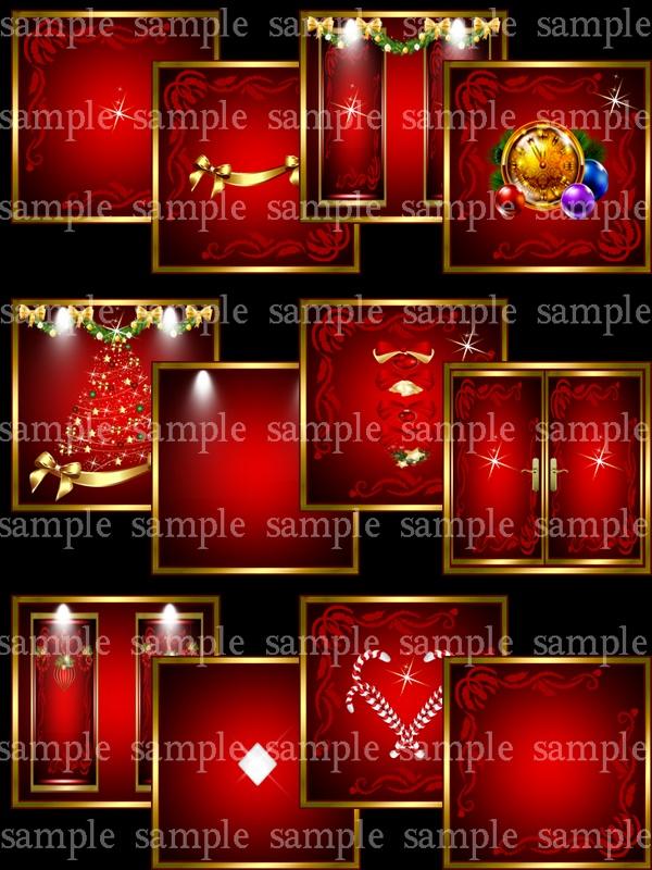 Golden Christmas Pack