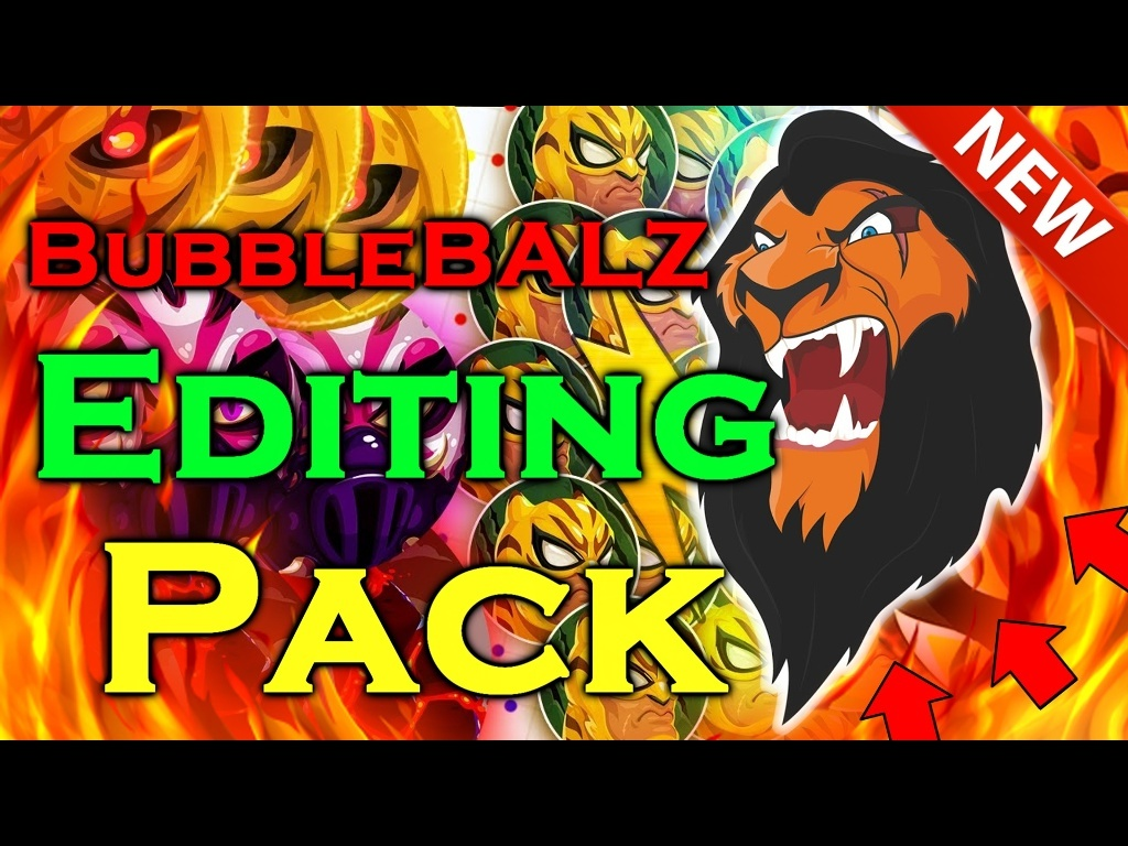 || BubbleBALZ Editing Pack || V1. || BY C PLUS || SFX / VFX / PNG's