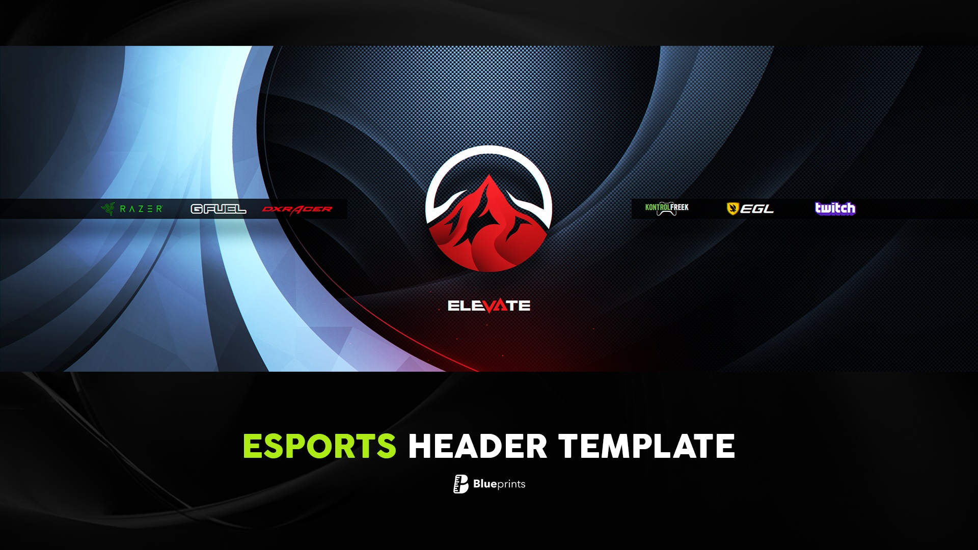 Professional eSports Header Template!