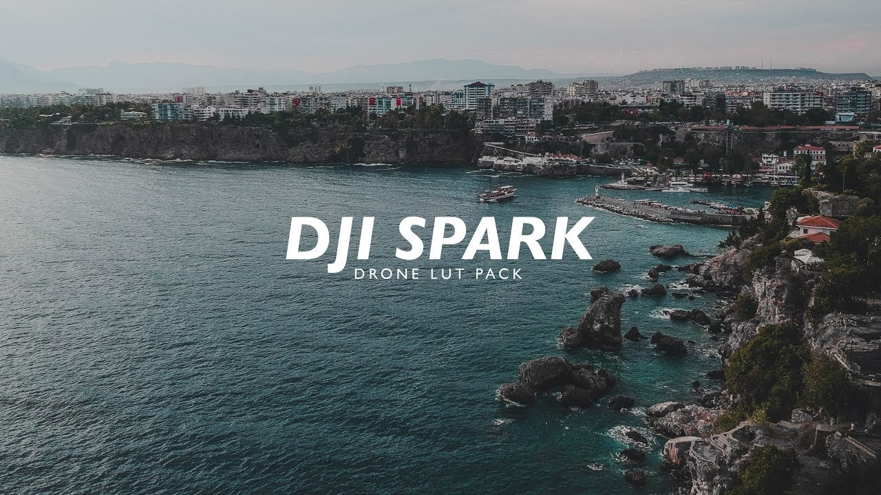 DJI SPARK Cinematic Drone LUT Pack