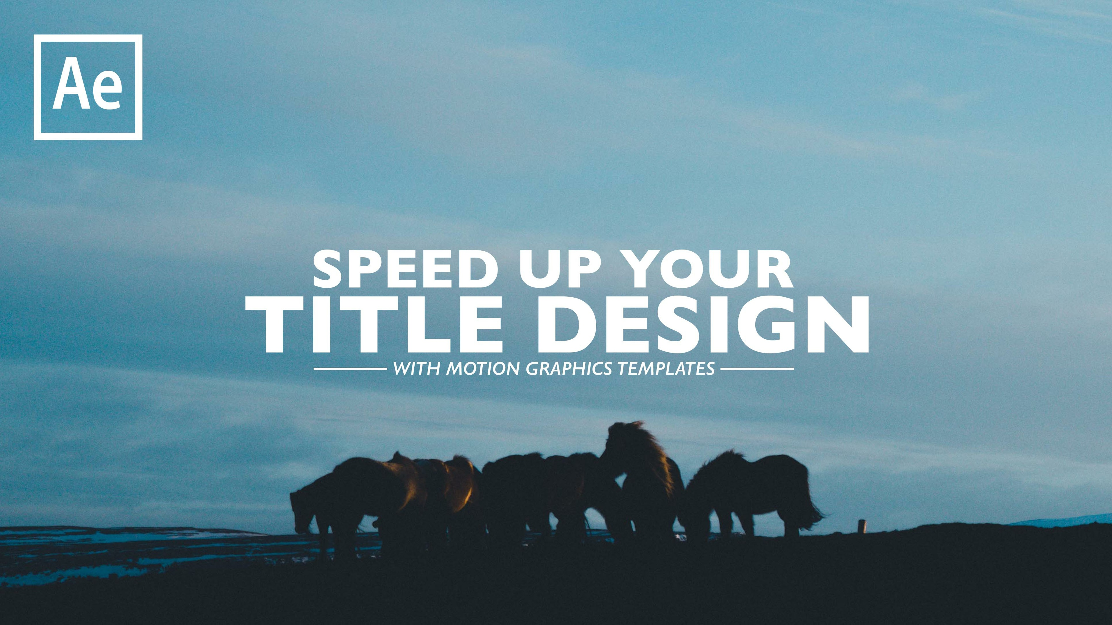 3 CINEMATIC TITLE Motion Graphics TEMPLATES (Premiere Pro / After Effects)