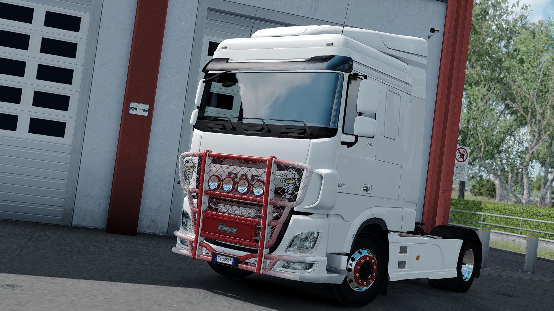 [ETS2 - ADDON] Bullbar Trux HighWay DAF Euro 6