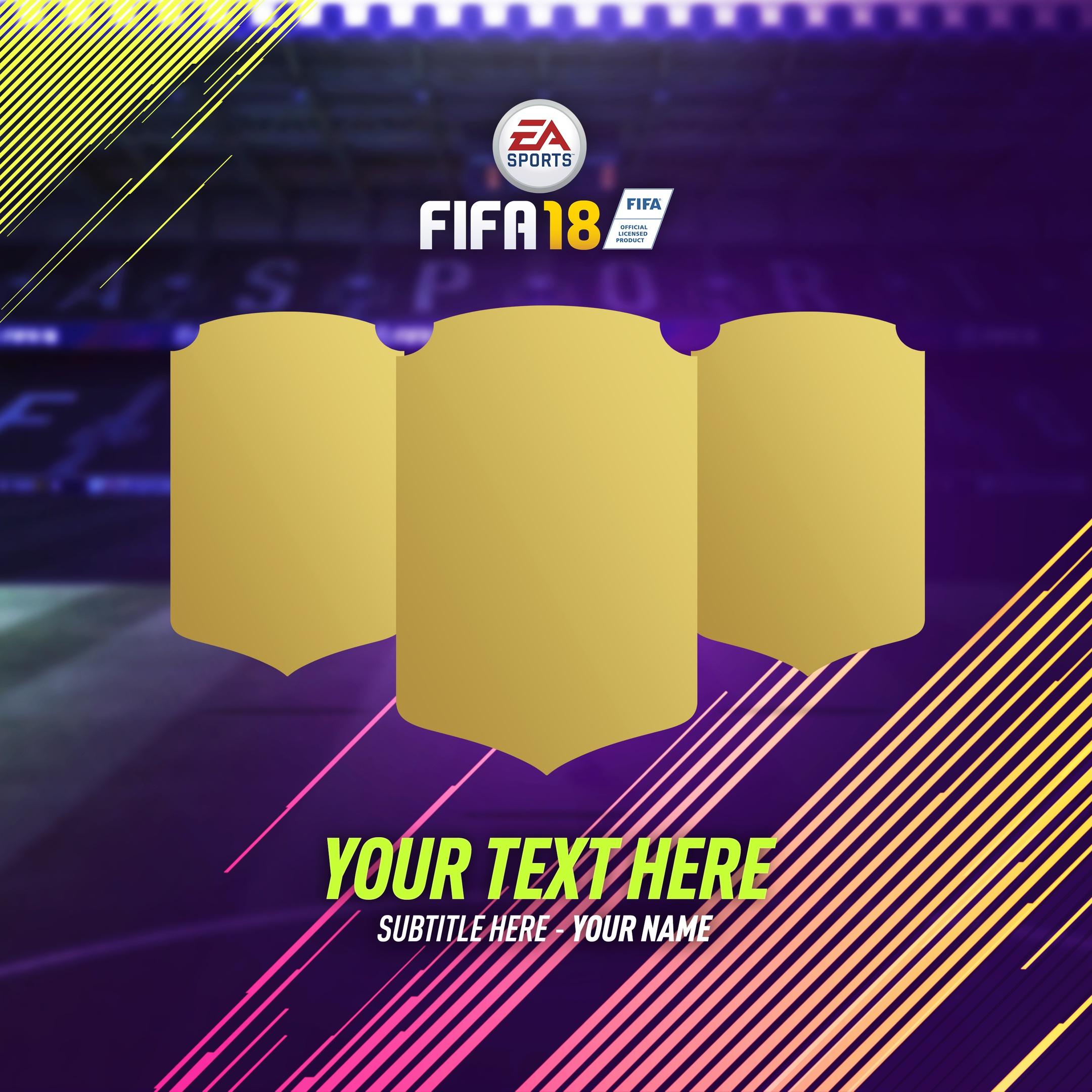 FIFA 18 BG PACK - @pfdesignss