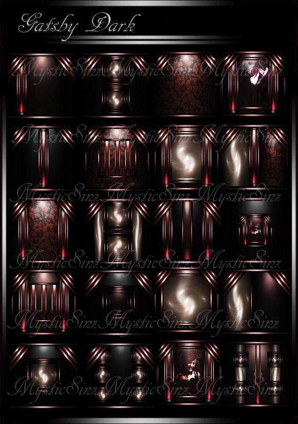 Gatsby Dark Room Collection IMVU