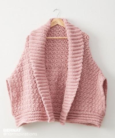 Origami Crochet Coccon Cardi