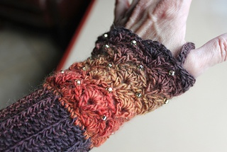 Shell stitch Beaded Wristers