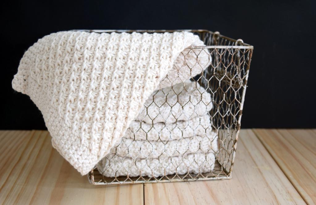 Daisy Washcloths