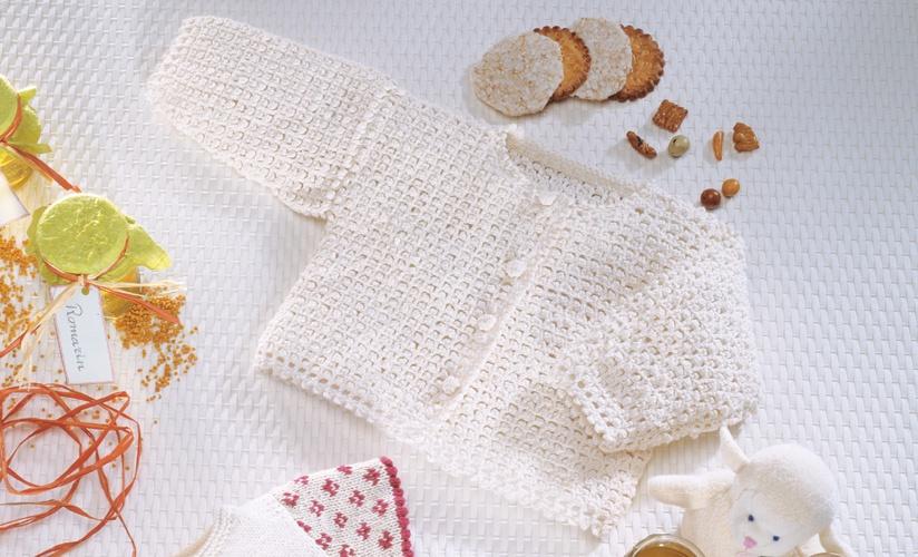Beginner Crochet Cardi