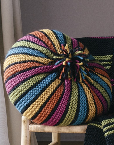 Big Merino Small Stripes