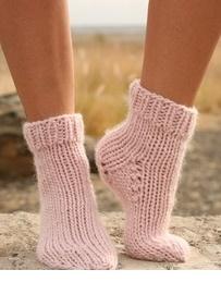 Big Knit Ankle Socks
