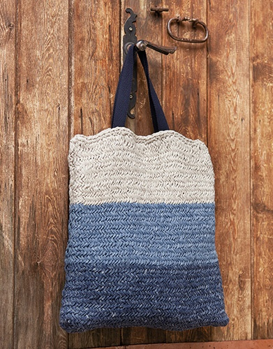 Ocean Blue Bag