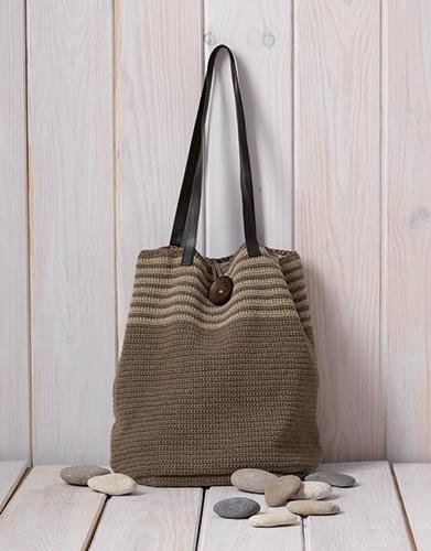 Linen Stripes Bag