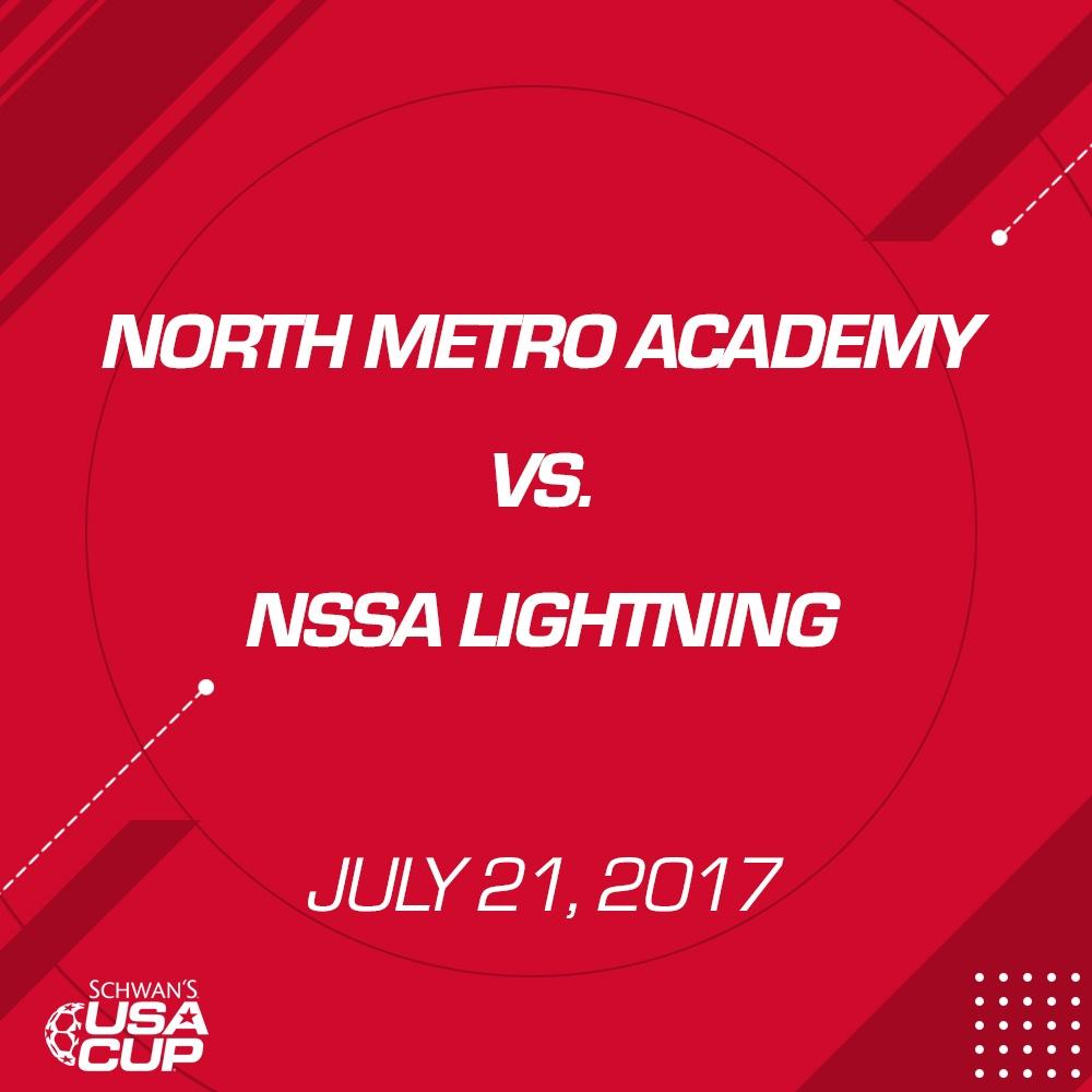 Boys U13 Silver - July 21, 2017 - North Metro Academy vs NSSA Lightning