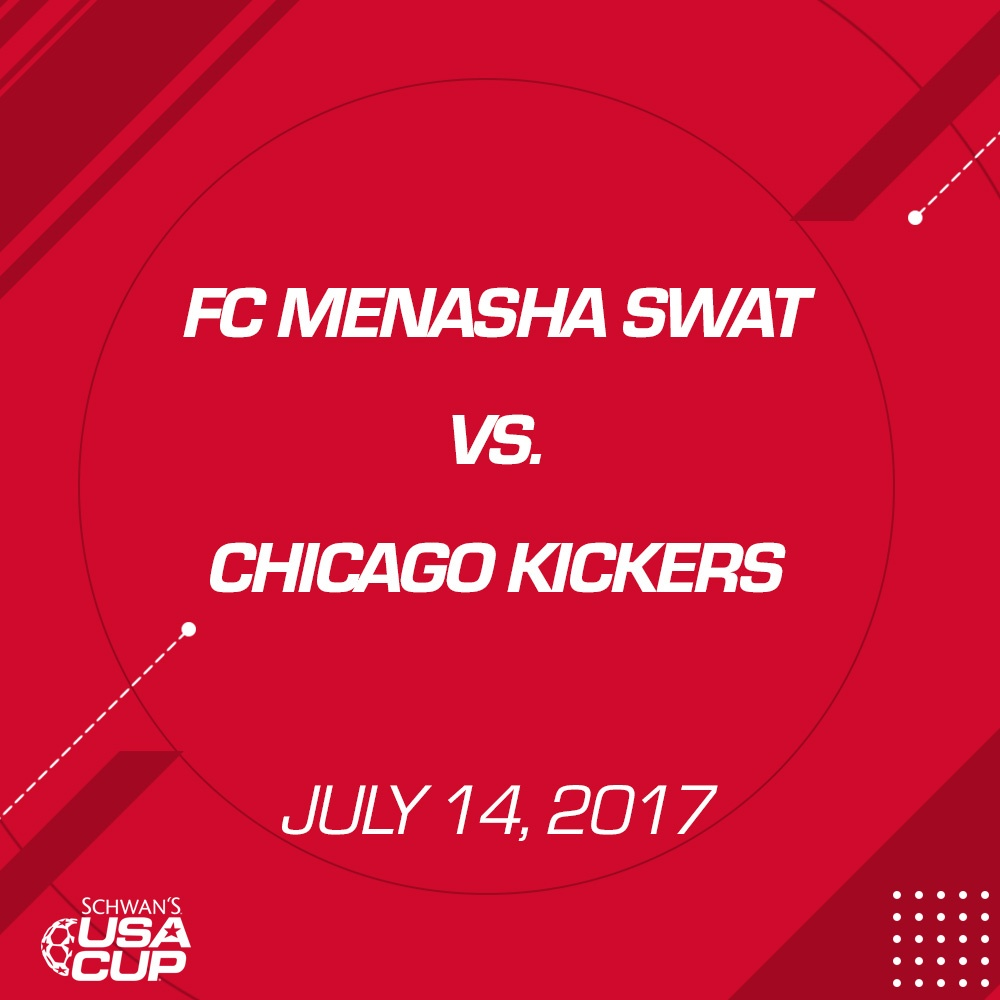 Girls U15 - July 14, 2017 - FC Menasha SWAT vs Chicago Kickers