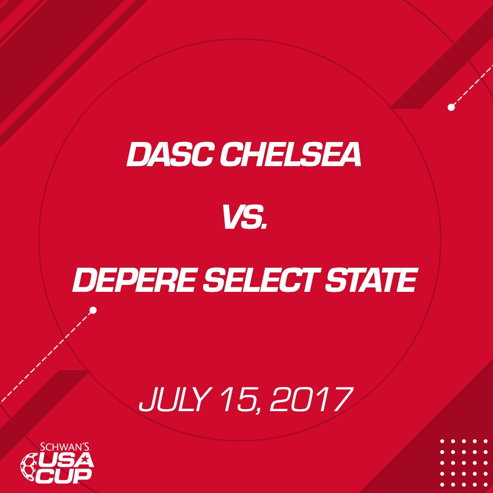Girls U13 - July 15, 2017 - DASC Chelsea V. De Pere Select State