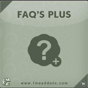 OpenCart FAQ Module By FmeAddons