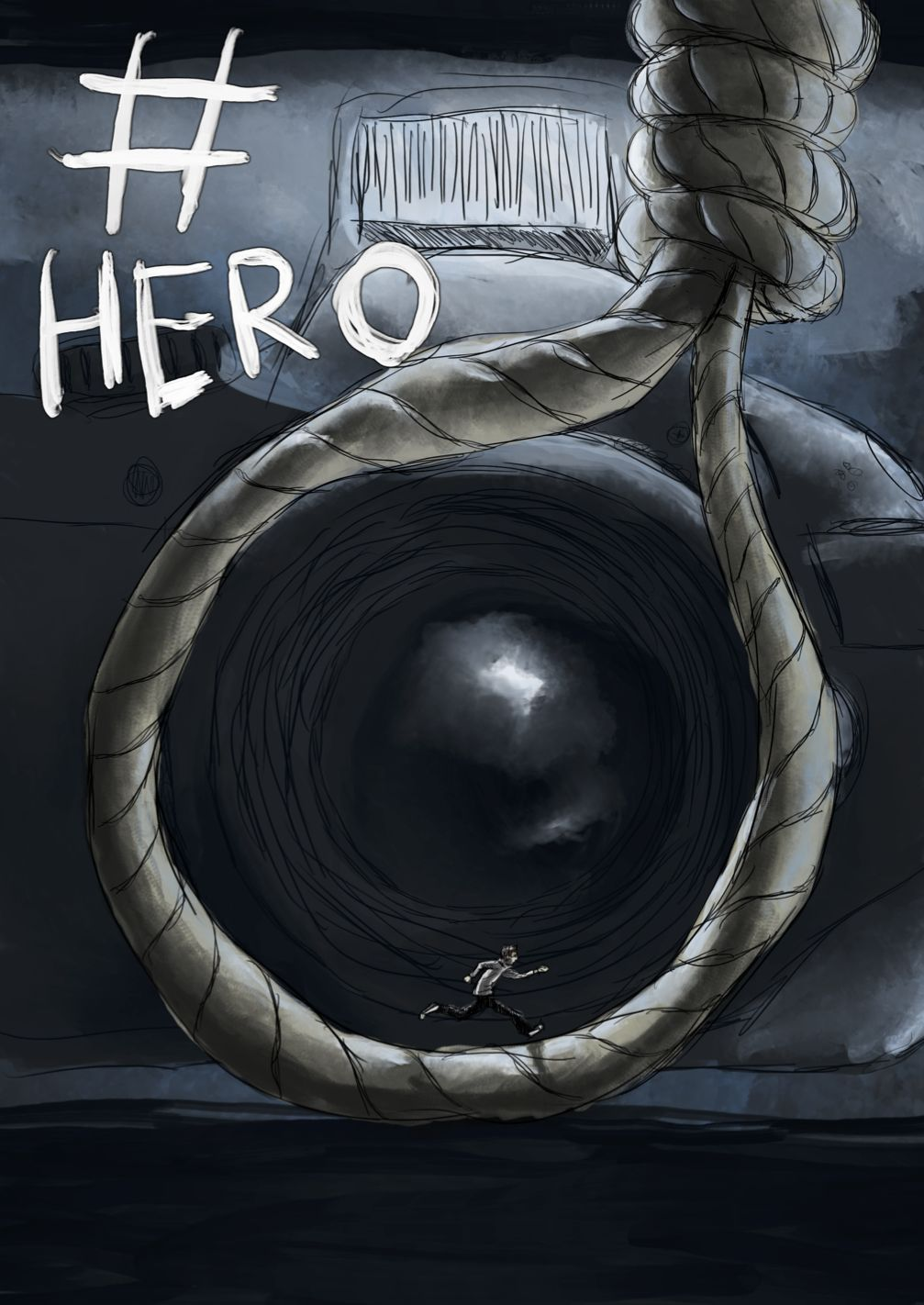 #Hero Comic Book