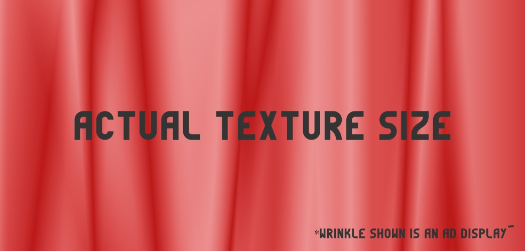 Wrinkles Pack 2- Good for Dresses, Curtains, Blankets and much more!