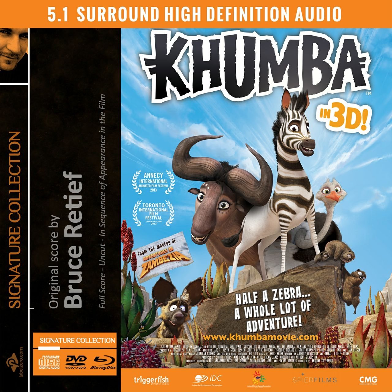 Khumba (Original Score) - FLAC Surround 24 Bit