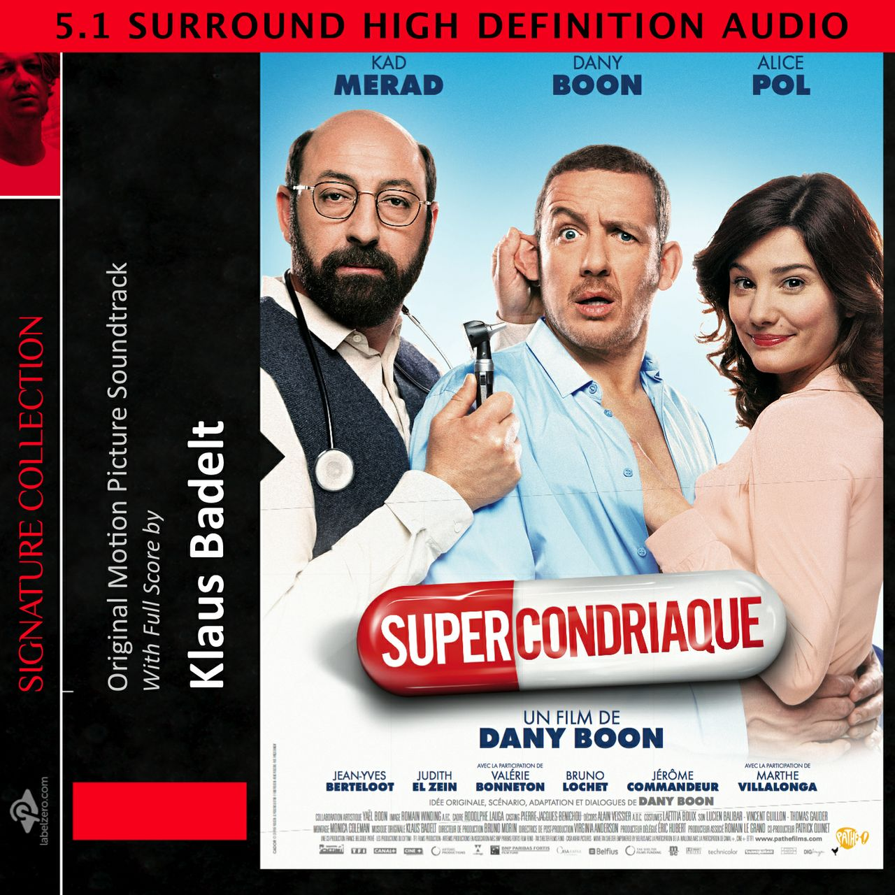 Supercondriaque (Original Score) - FLAC Surround 24 Bit