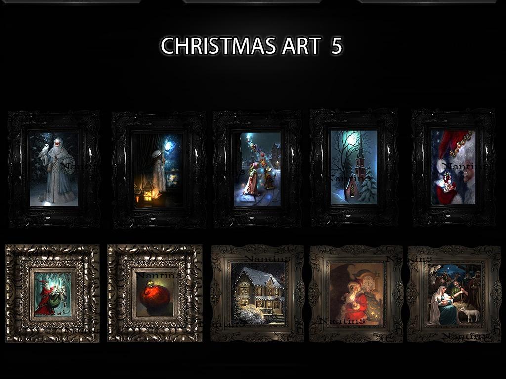 CHRISTMAS ART 5