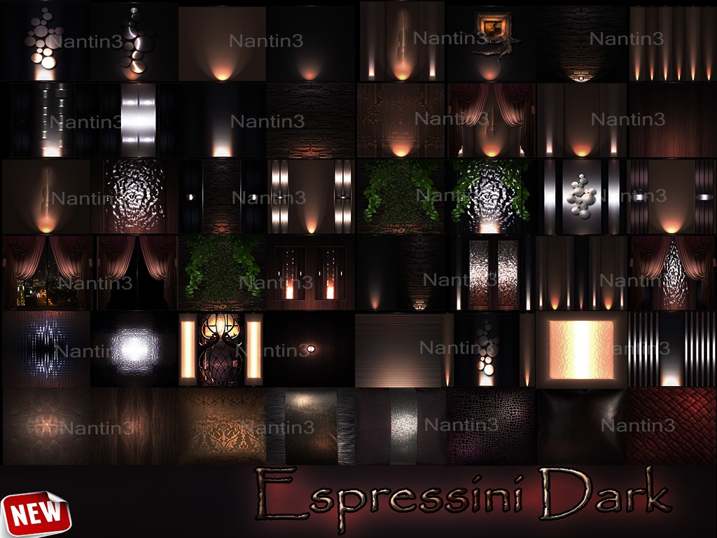 Espressin Dark Files 48Textues  256x256jpg.