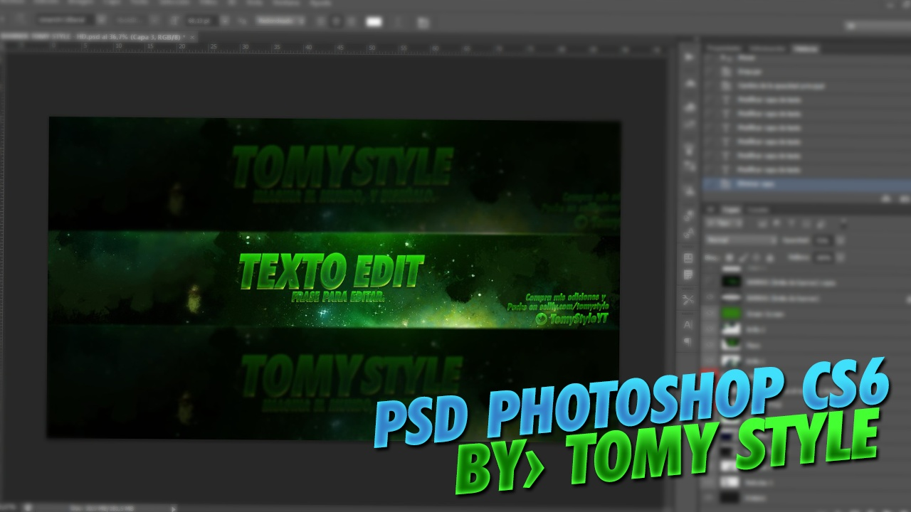 Banner Editable GFX (Photoshop CS6) - Template PSD
