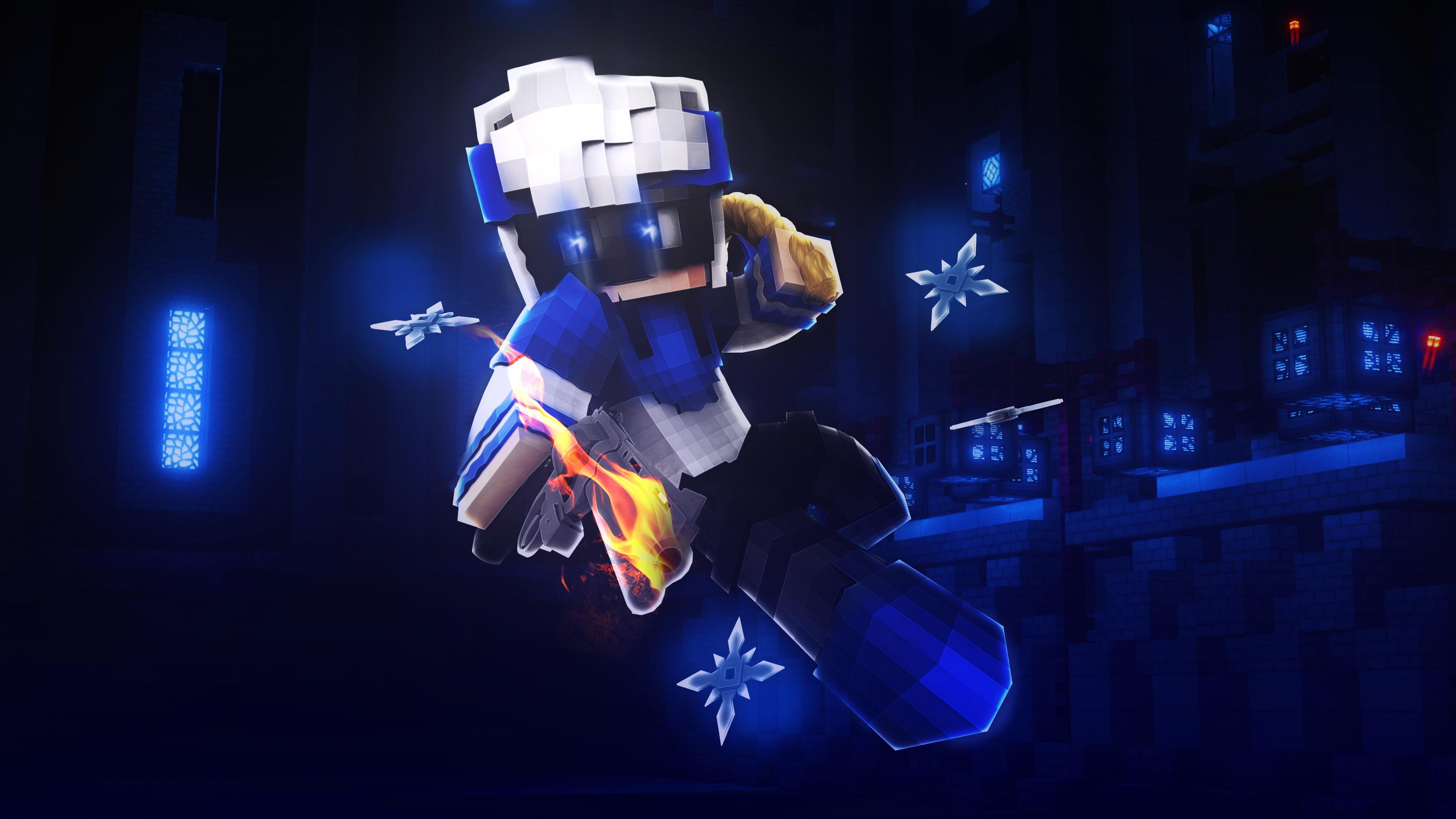Wallpaper de Minecraft (de tu skin)