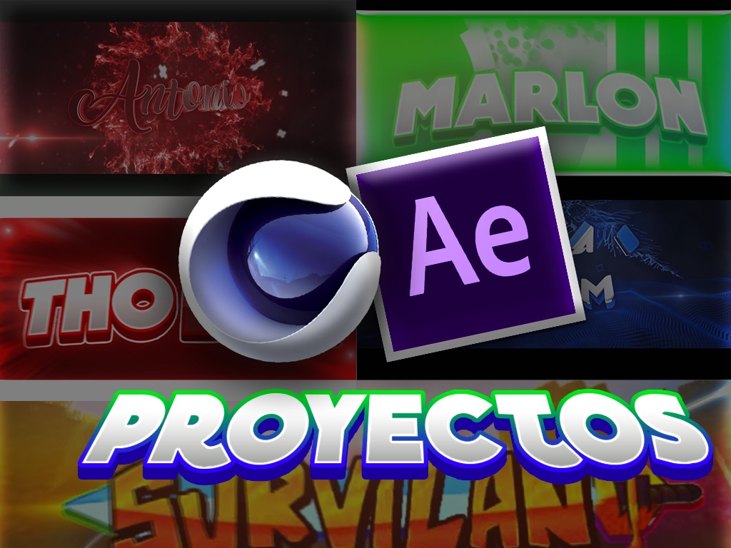 Proyect AE/C4D/2D/3D