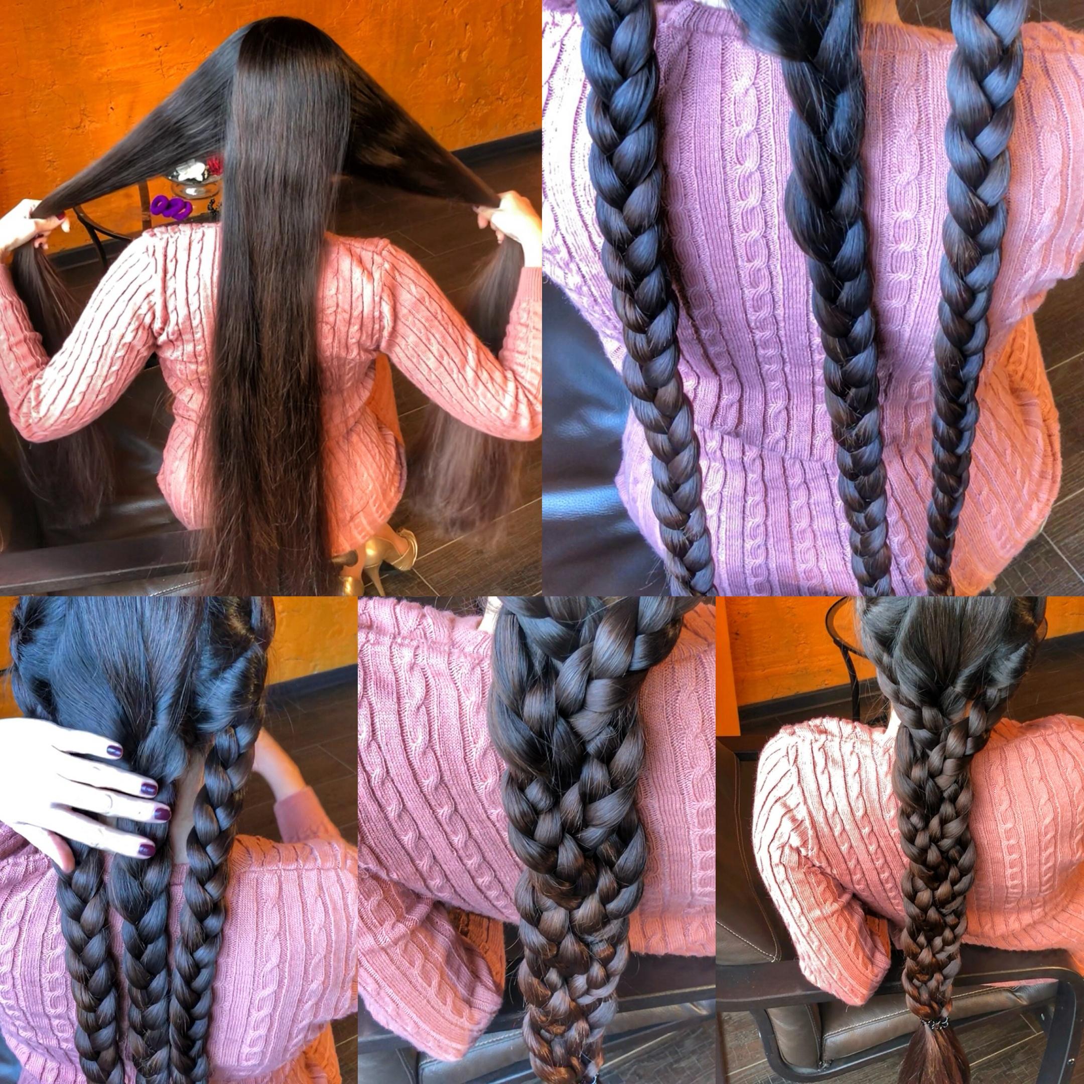 Three braids, big braid 11 minutes