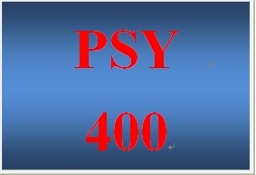 PSY 400 Week 5 Altruism in Society Campaign and Presentation