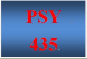 PSY 435 Week 2 Learning Team Charter