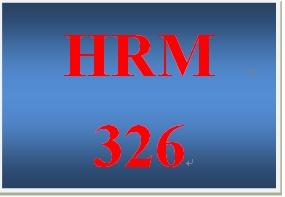 HRM 326 Week 4 Delivery Methods