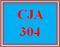 CJA 304 Week 4 Technology and Communication Paper