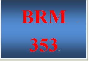 BRM 353 Week 3 ProductBrand Development Phase II